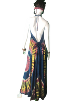 Load image into Gallery viewer, Pink Sands of Komodo (Long halter dress)