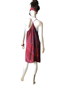 Red Wine Bath House Japan (Short T-strap Dress)