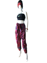 Load image into Gallery viewer, Red Wine Bath House Japan (Jogger Style Thai Pants)