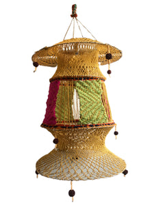 Hand Woven Lantern from India
