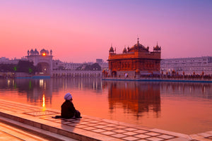 Dawn at the Golden Temple
