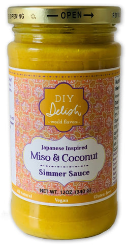 Miso and Coconut Sauce