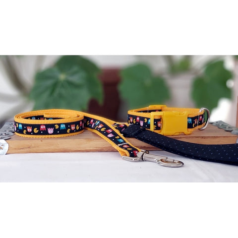 Inky and Blinky Leash and Collar Set