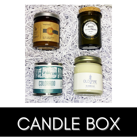Colorado Candle Box