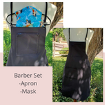Barber Apron Gift Set