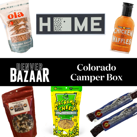 Colorado Camper Gift Box