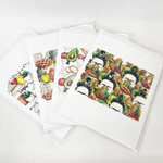 Hand Drawn Tesse Prints
