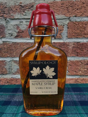 Vanilla-Infused Maple Syrup