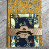 Farmhouse Floral Beeswax Wrap Set