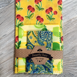 Fruity Beeswax Wraps