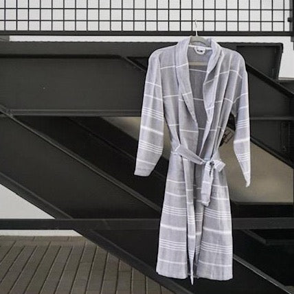 Mandalina Luxe Turkish Cotton His/Hers Bathrobe