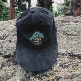 Moss Green Pinecone Hat