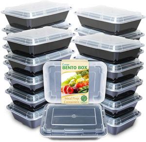 Enther Single Compartment 28 oz Meal Prep Containers