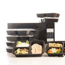 Load image into Gallery viewer, Enther 3 Compartment Meal Prep Containers
