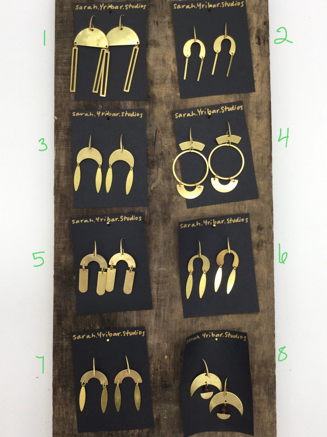 Sarah Yribar Studio earrings