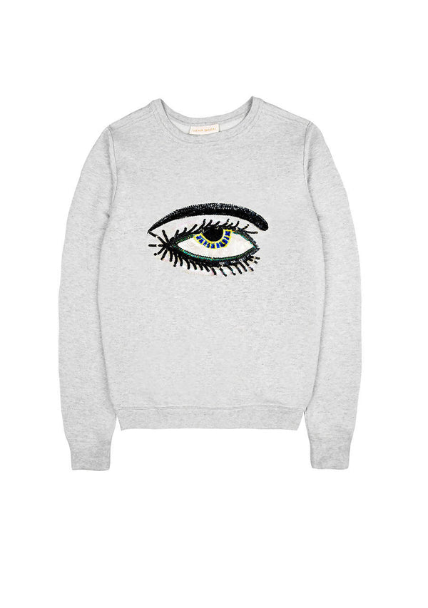 Eye Sweater in Cotton