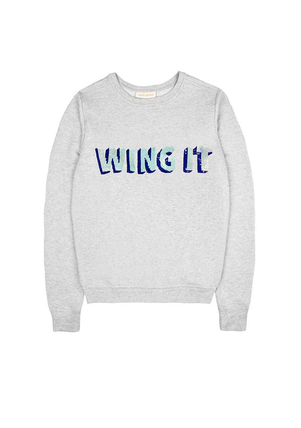 Wing It Sweater in Cotton