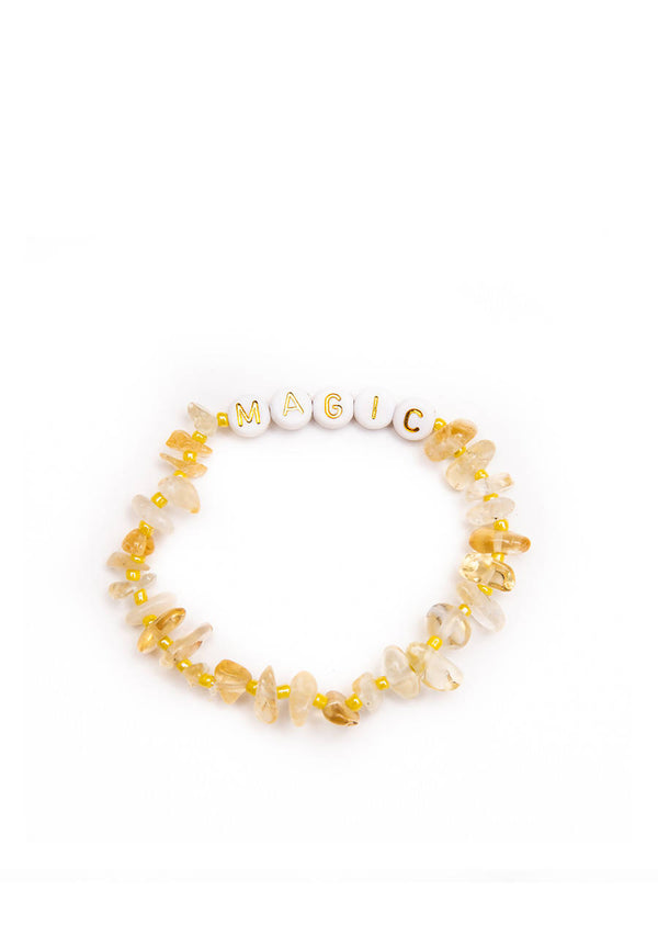 Magic Gold - Citrine Crystal - Healing Bracelet