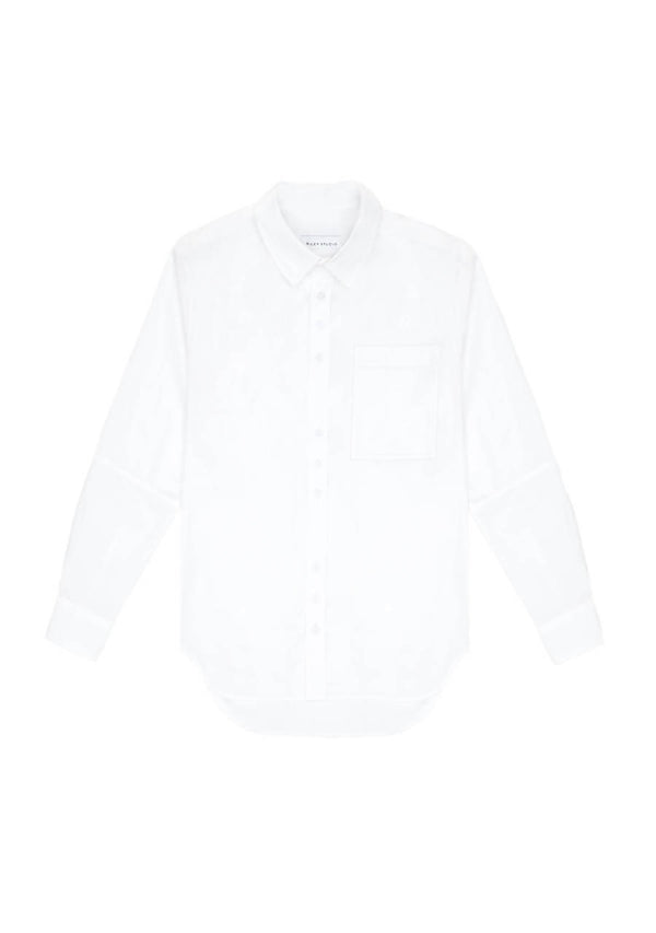 Organic Cotton Shirt in White