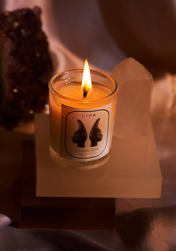 Queen Idia Candle (90g small)