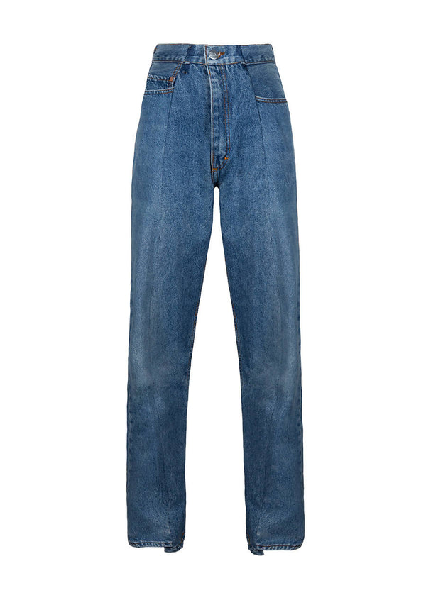 Match Boyfriend Jean in Recycled Denim