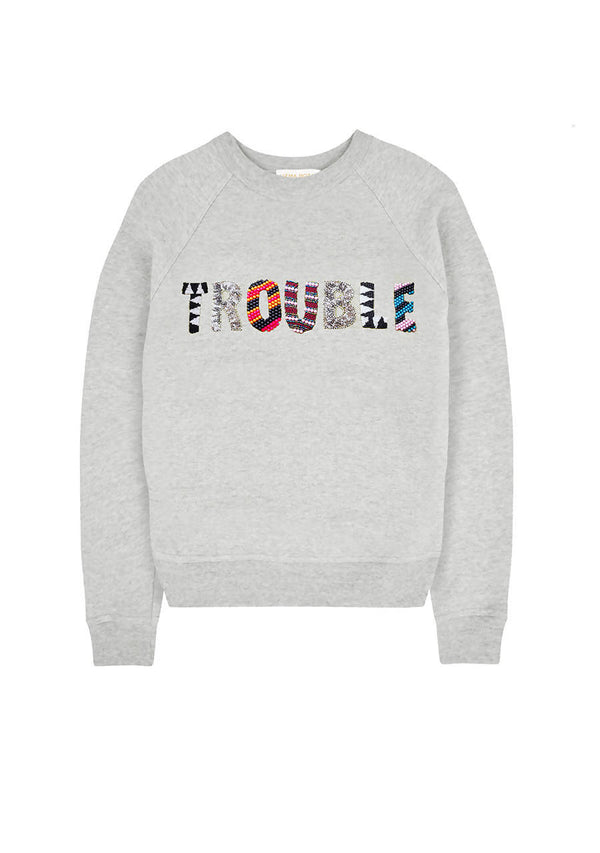 Trouble Sweater in Cotton