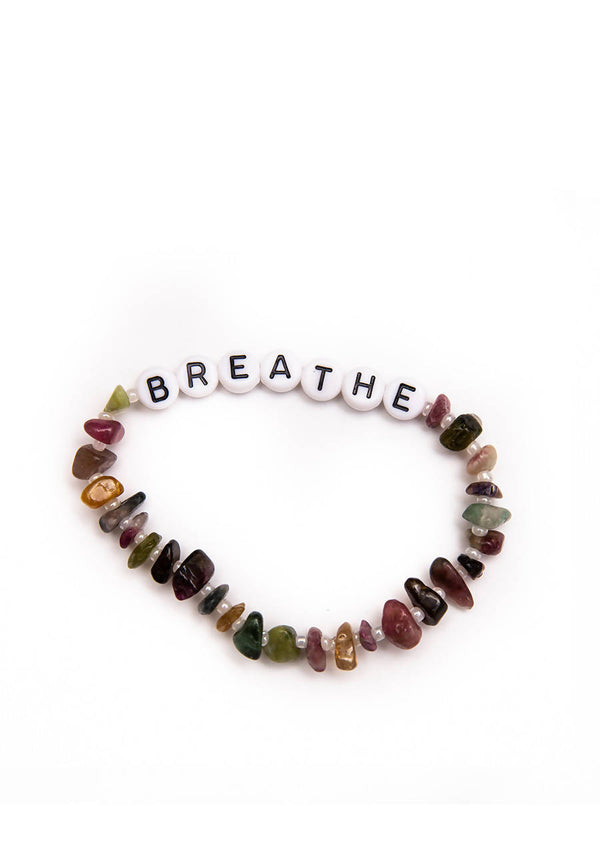 Breathe - Tourmaline Crystal - Healing Bracelet