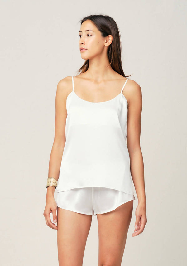 Thera Cami in Moonlight White