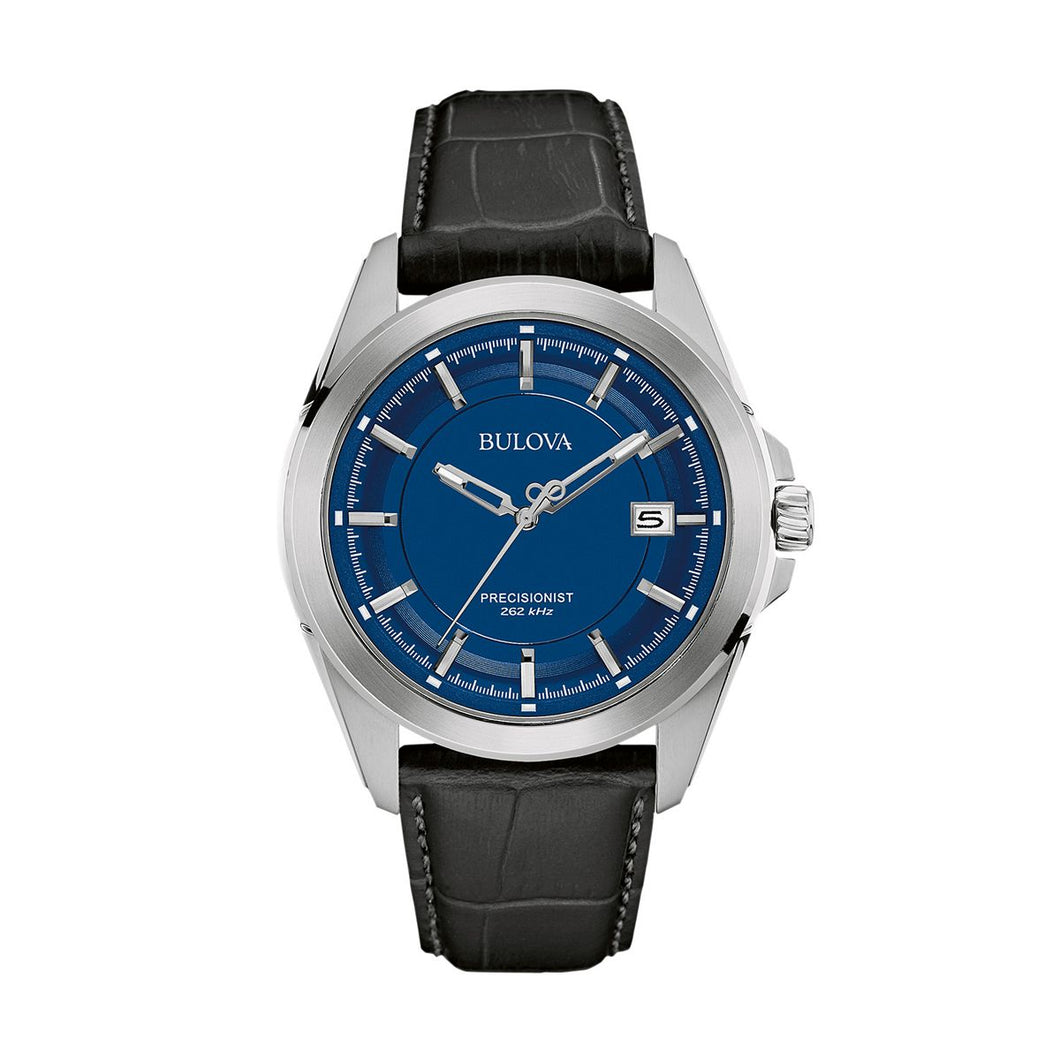 Bulova Men's Precisionist Leather Watch