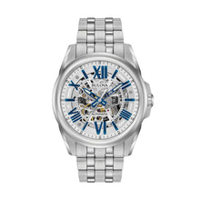 Load image into Gallery viewer, Bulova Men's Stainless Steel Automatic Watch