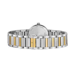 Bulova Women's Modern Diamond Accent Two Tone Stainless Steel Watch