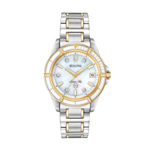 Load image into Gallery viewer, Bulova Women's Marine Star Two Tone Stainless Steel Diamond Accent Watch