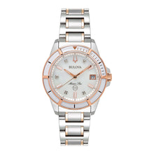 Load image into Gallery viewer, Bulova Women's Marine Star Two Tone Watch