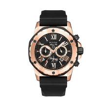 Load image into Gallery viewer, Bulova Men's Marine Star Stainless Steel Chronograph