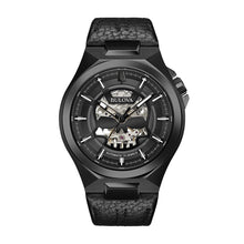 Load image into Gallery viewer, Bulova Men's Automatic Leather Watch