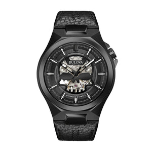 Bulova Men's Automatic Leather Watch