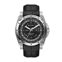 Load image into Gallery viewer, Bulova Men's Precisionist Diamond Accent Leather