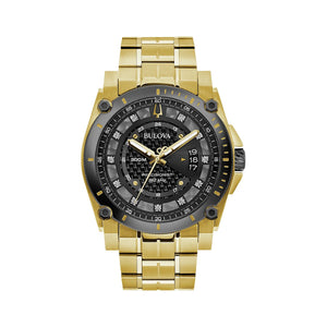 Bulova Men's Precisionist Diamond Accent Gold-Tone