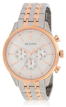 Load image into Gallery viewer, Bulova Two Tone Chronograph Bracelet Watch