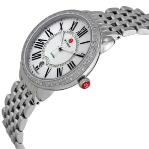 Serein Mid Stainless-Steel Diamond Watch