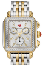 Load image into Gallery viewer, Deco Two-Tone Diamond, Diamond Dial Watch