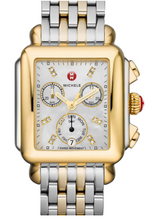 Load image into Gallery viewer, Deco Non-Diamond Two-Tone, Diamond Dial Two Tone Watch