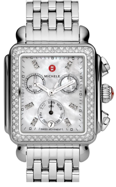 Deco Diamond, Diamond Dial Watch