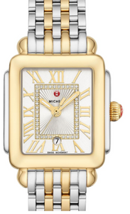 Deco Madison Mid Two-Tone Diamond Dial Watch