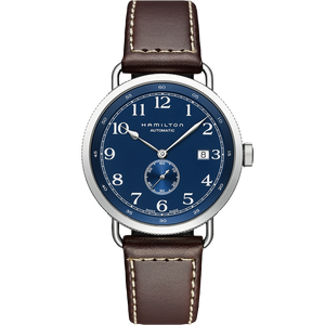 Khaki Navy Pioneer Small Second Auto