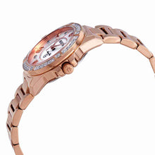 Load image into Gallery viewer, Bulova Ladies Rose Gold Tone Marine Star Diamond Watch with MOP Dial