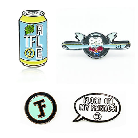 TFL Enamel Pins The Float Life | Buy the Best Onewheel Accessories