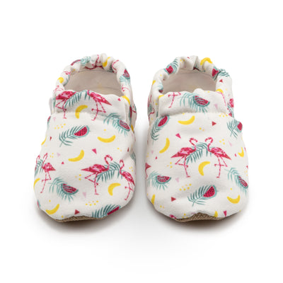 baby and toddler pink flamingo shoes
