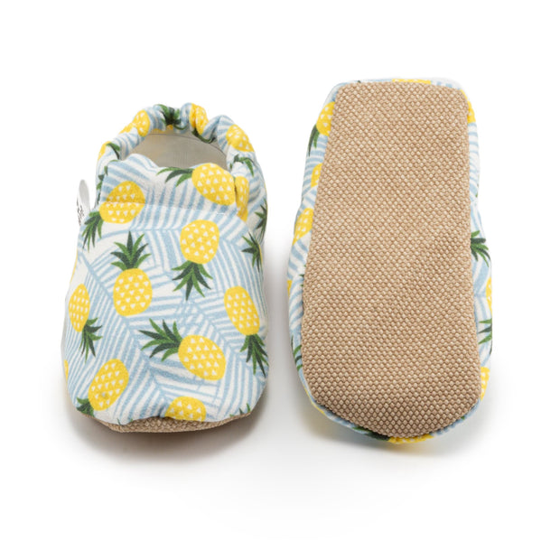 non slip pineapple baby shoes