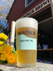 Cold Day IPA Frosted Pint Glass